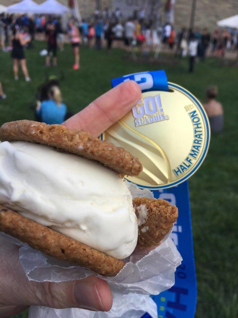St. Louis Halbmarathon Medaille