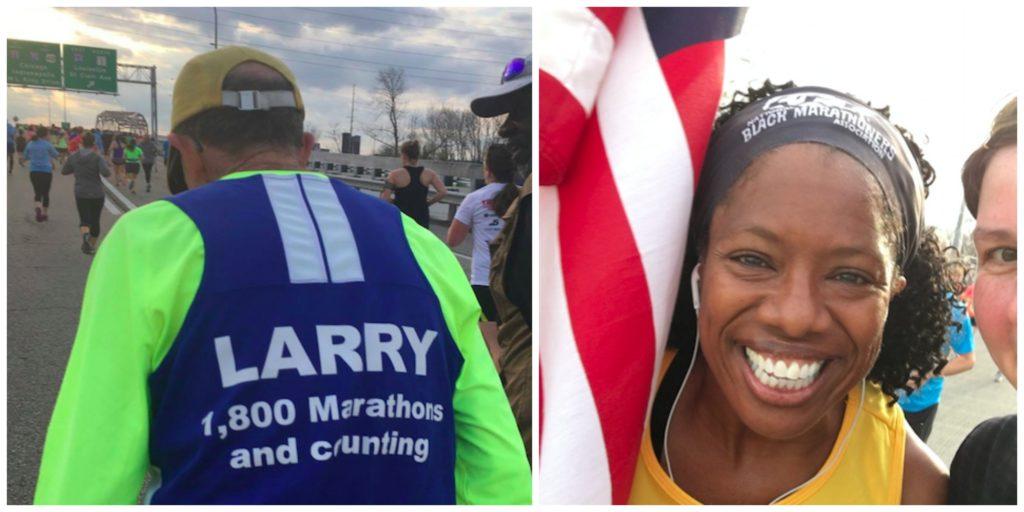 St. Louis Halbmarathon Lisa Davis und Larry