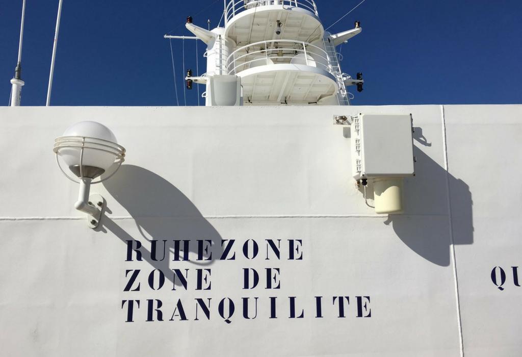 ruhezone kreuzfahrtschiff