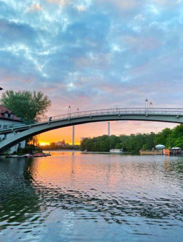 schönster sonnenaufgang in berlin