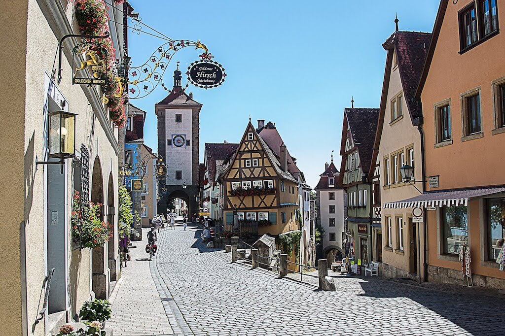 jakobsweg rothenburg