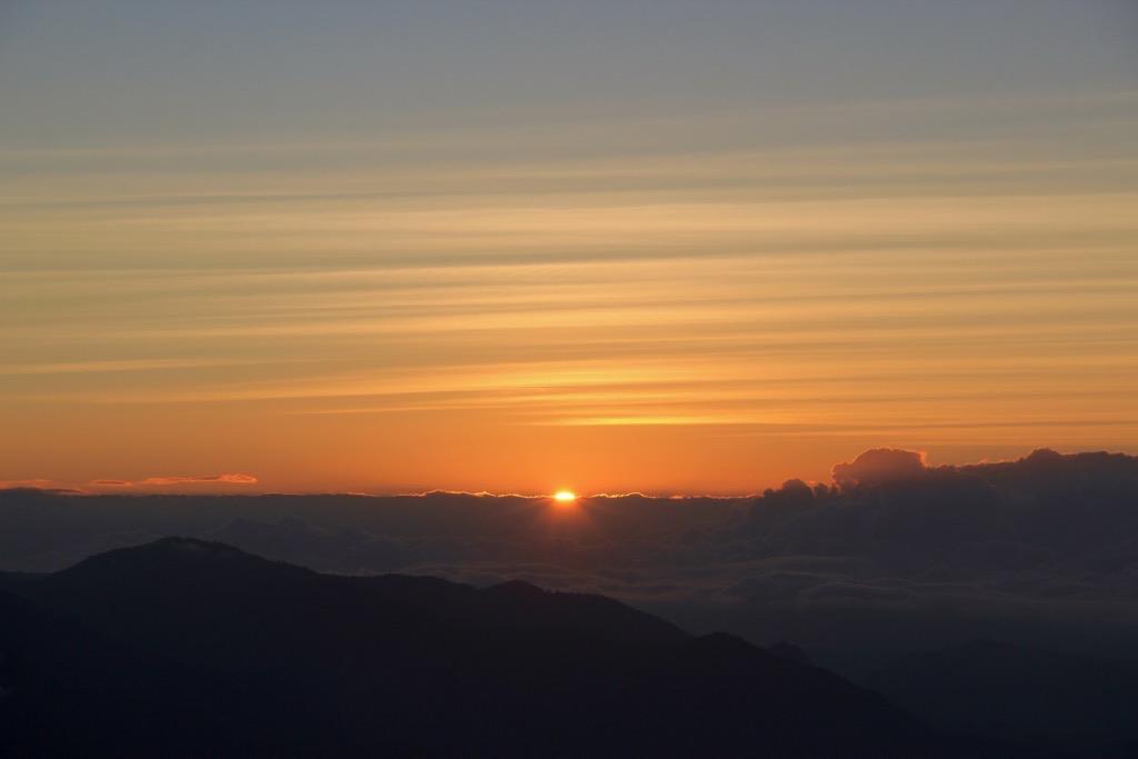 Sonnenaufgang Indoniesien Vulkan Kelimutu