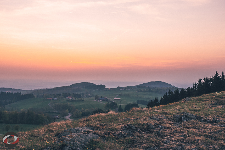 Sonnenaufgang Rhön Vakuya