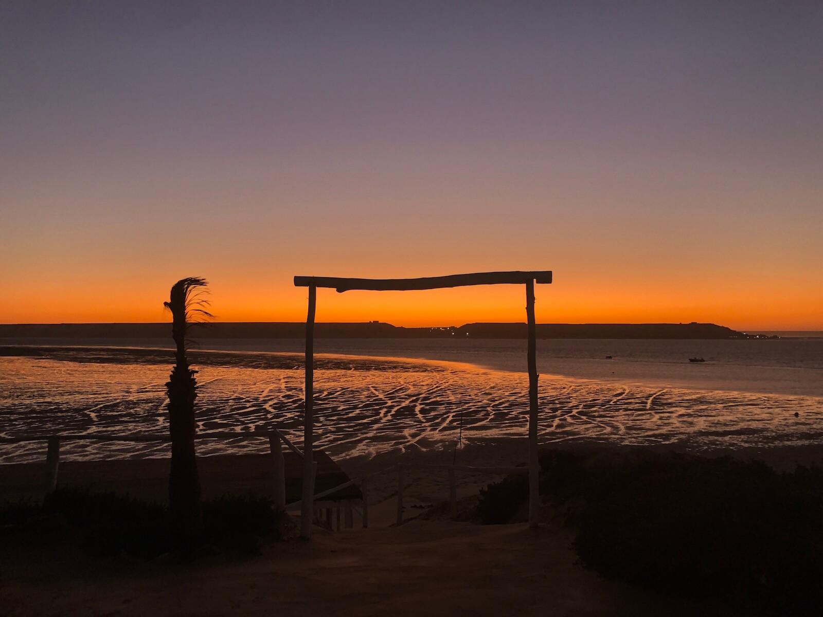 Sonnenaufgang Marokko Dakhla
