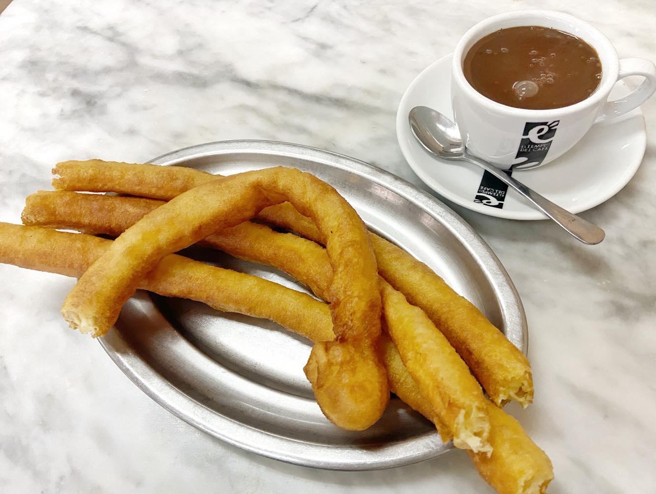churros mit schokolade essen palma