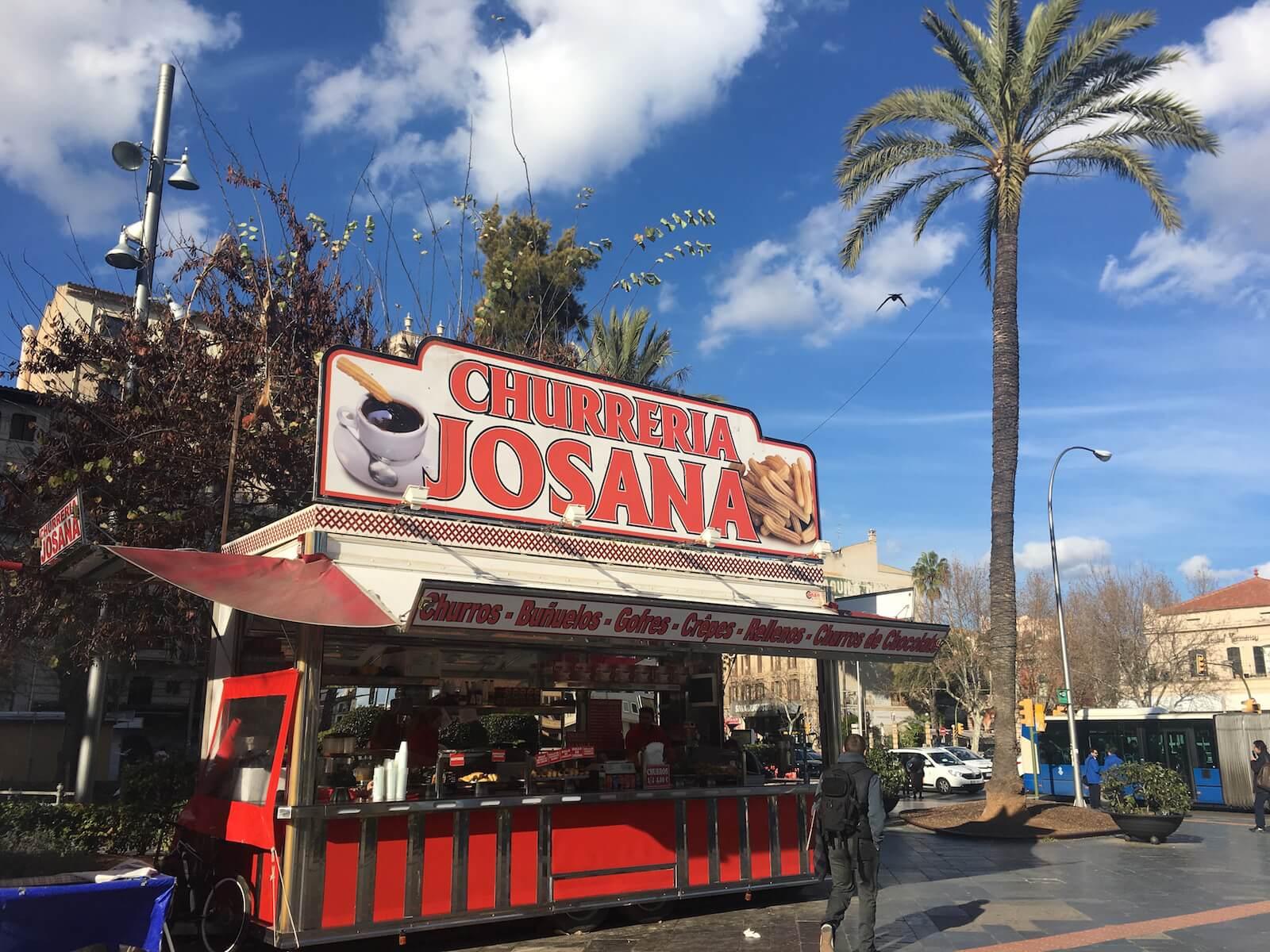 churros palma plaza espana
