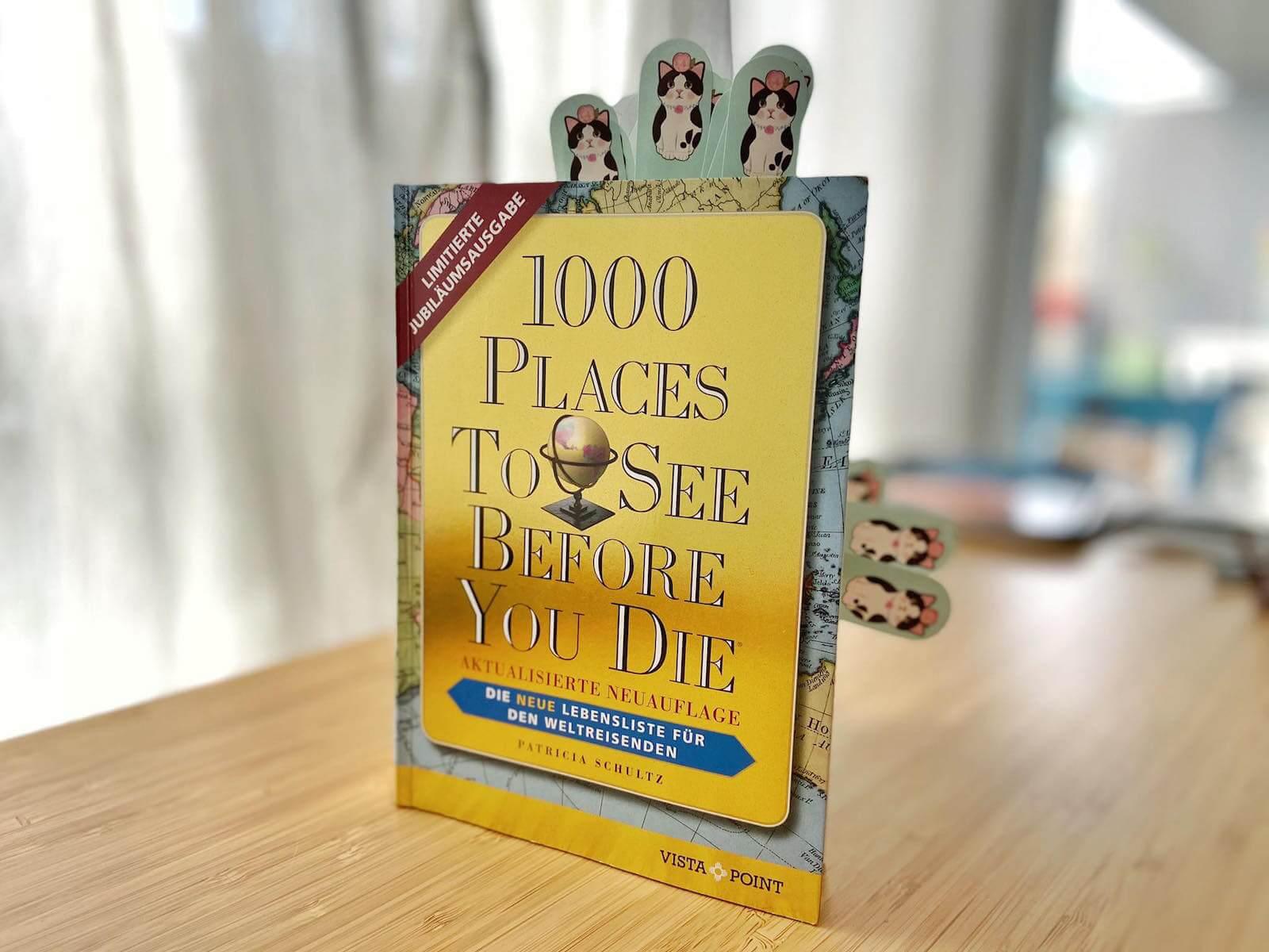 jubiläumsausgabe 1000 places to see before oyu die