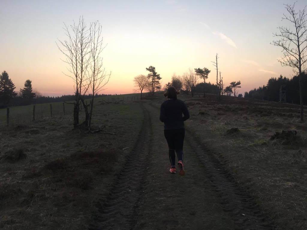Trail Run Sonnenaufgang