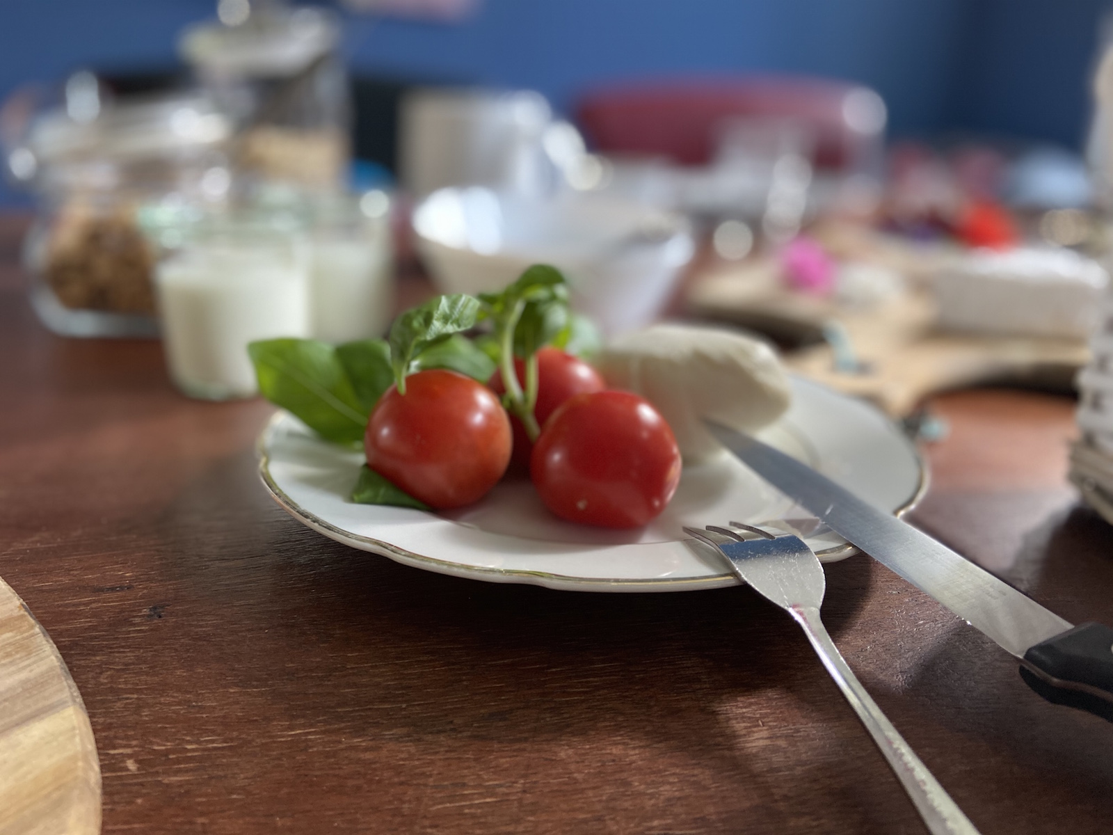 Frühstück im Gut Pohnstorf