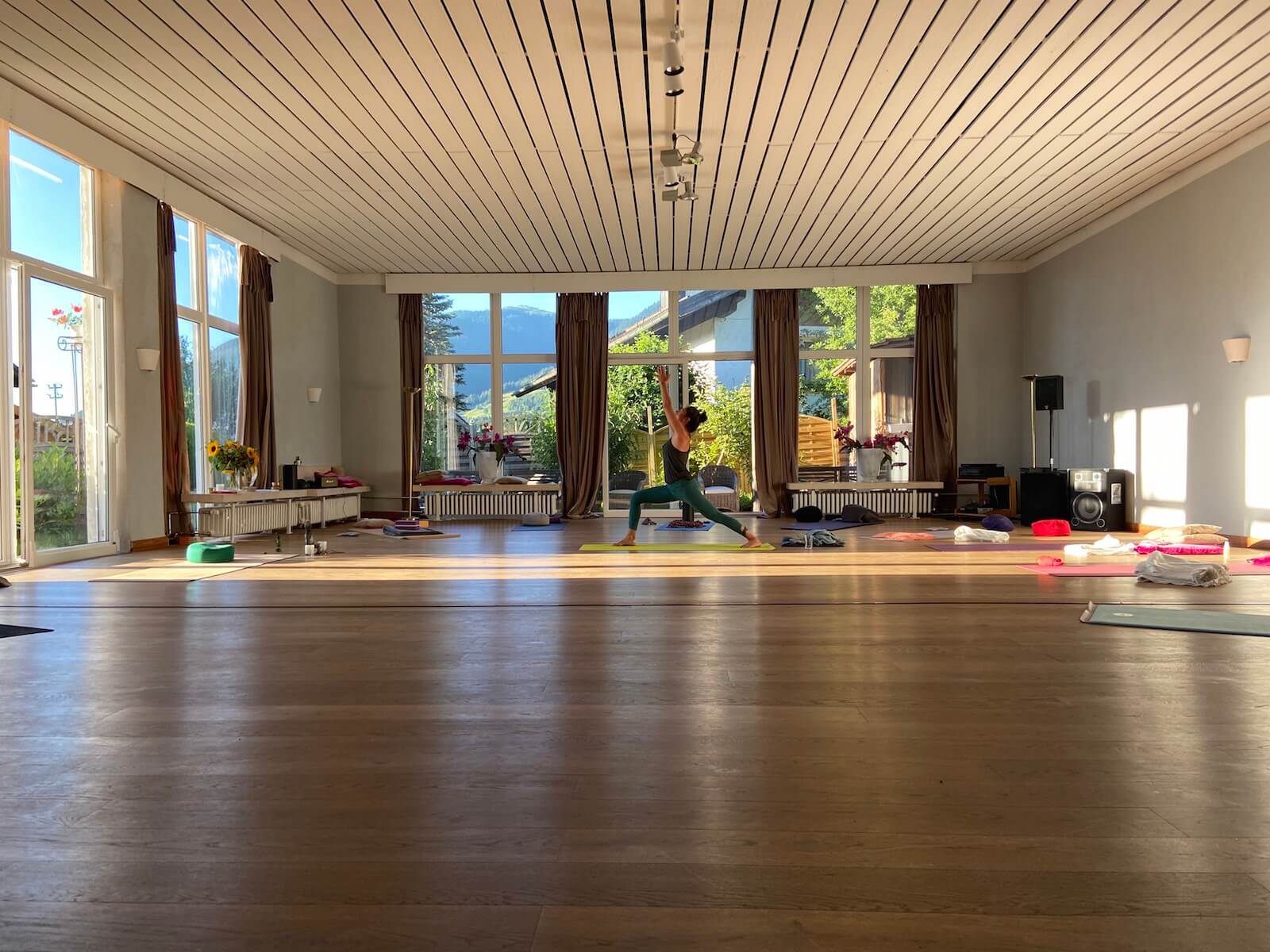 fastenwandern mit yoga in bayern