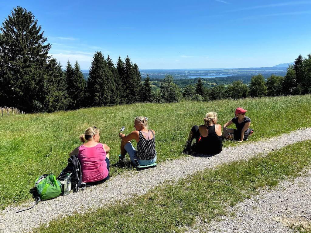 fastenwandern mit yoga in oberbayern