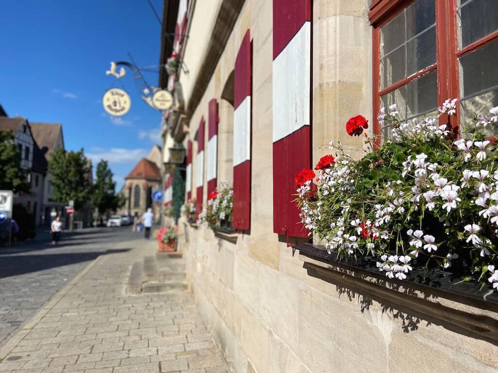 Das Alte Rathaus in Lauf an der Pegnitz