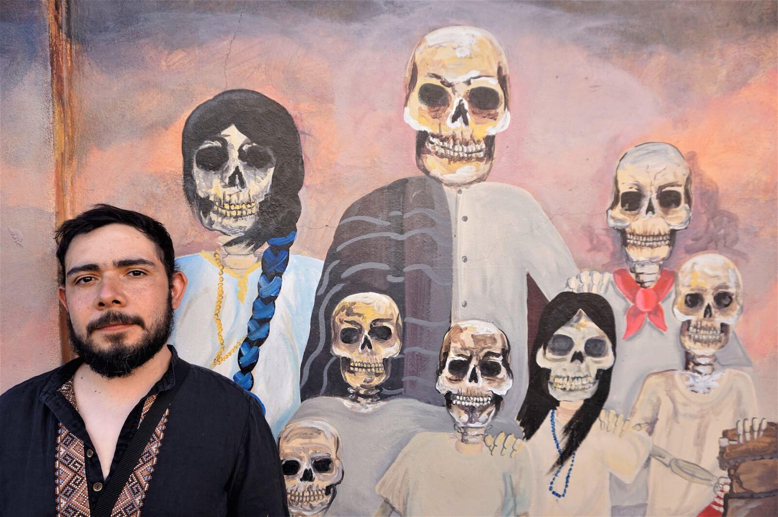"""Sebastian Cuevas vom Blog """"Rebel HIstorian"""""""