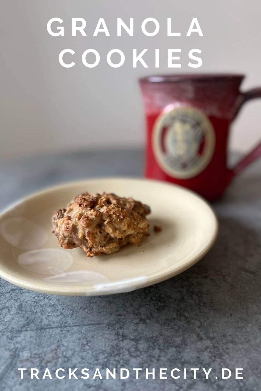 rezept zuckerfreie granola cookies