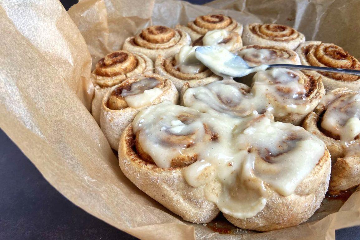 rezept cinnamon rolls amerikanische zimtschnecken