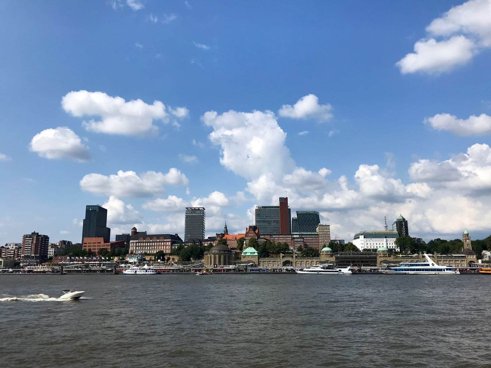 Spaziergang Hamburg Aussichtspunkt