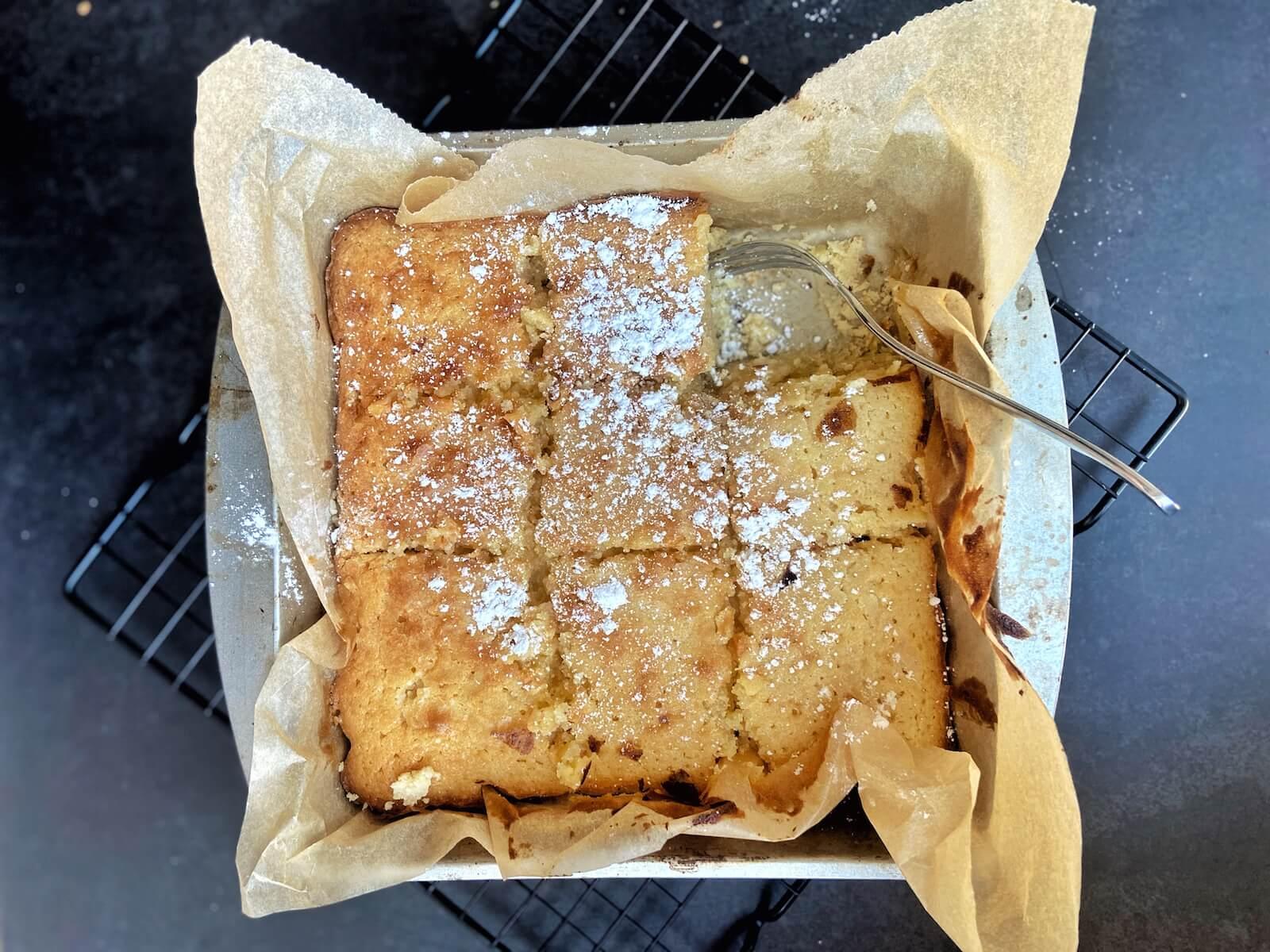gooey butter cake rezept