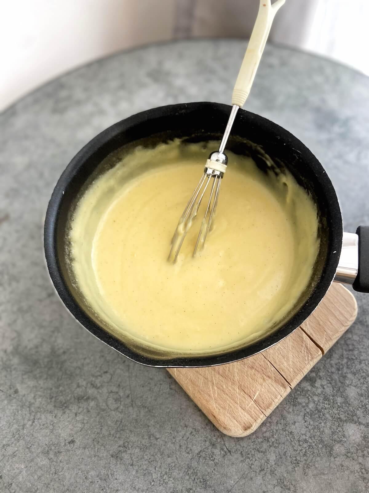 pudding creme für banana pudding