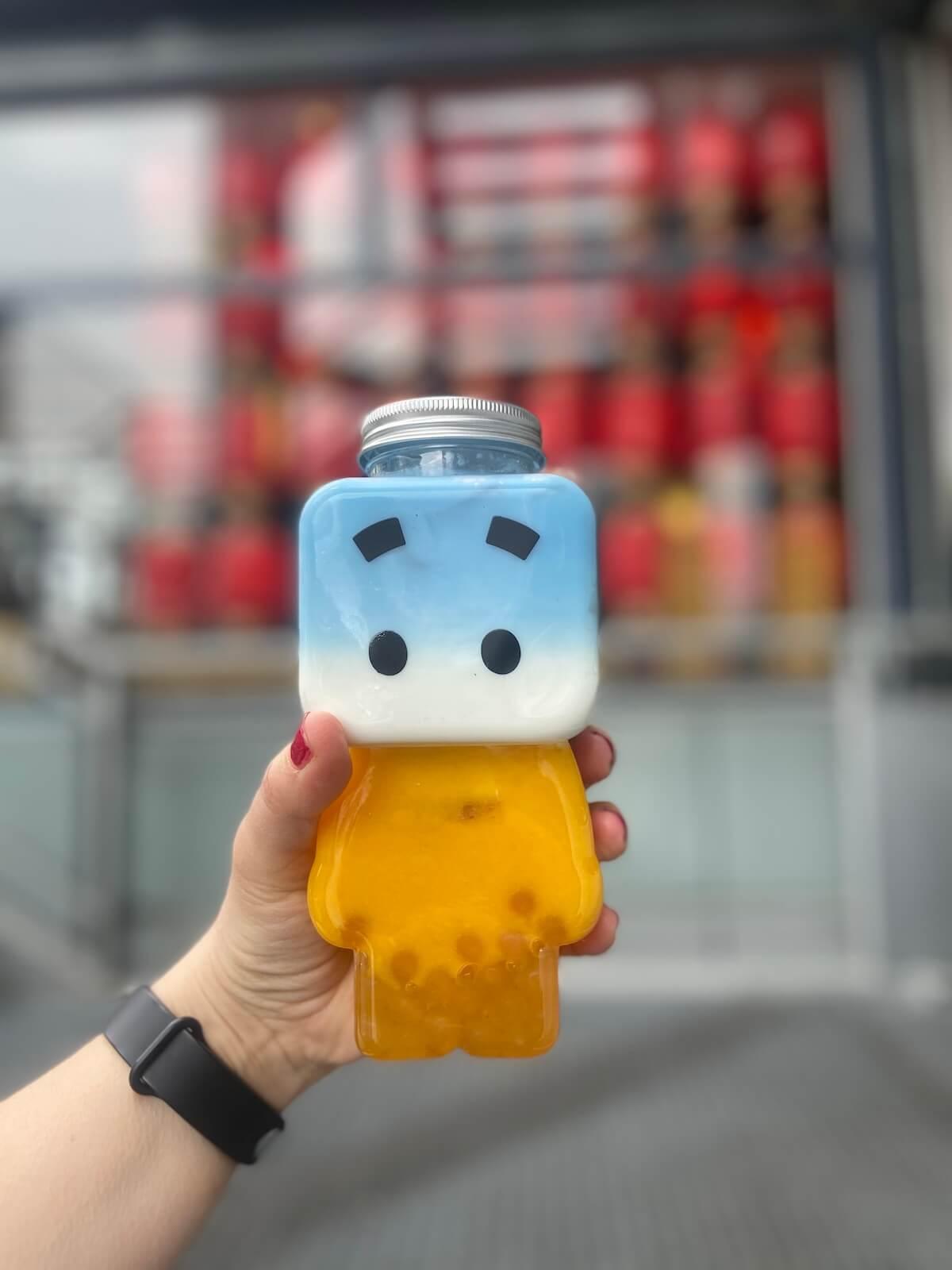 bubble tea berlin von mister box im europacenter