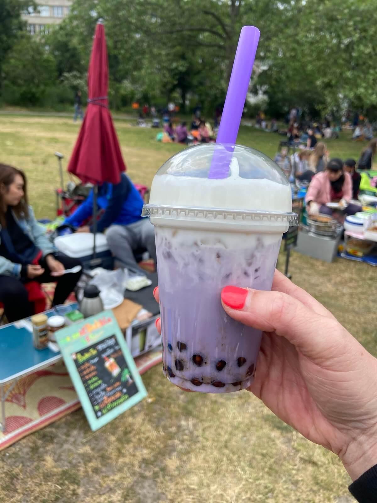 bubble tea berlin im thaipark