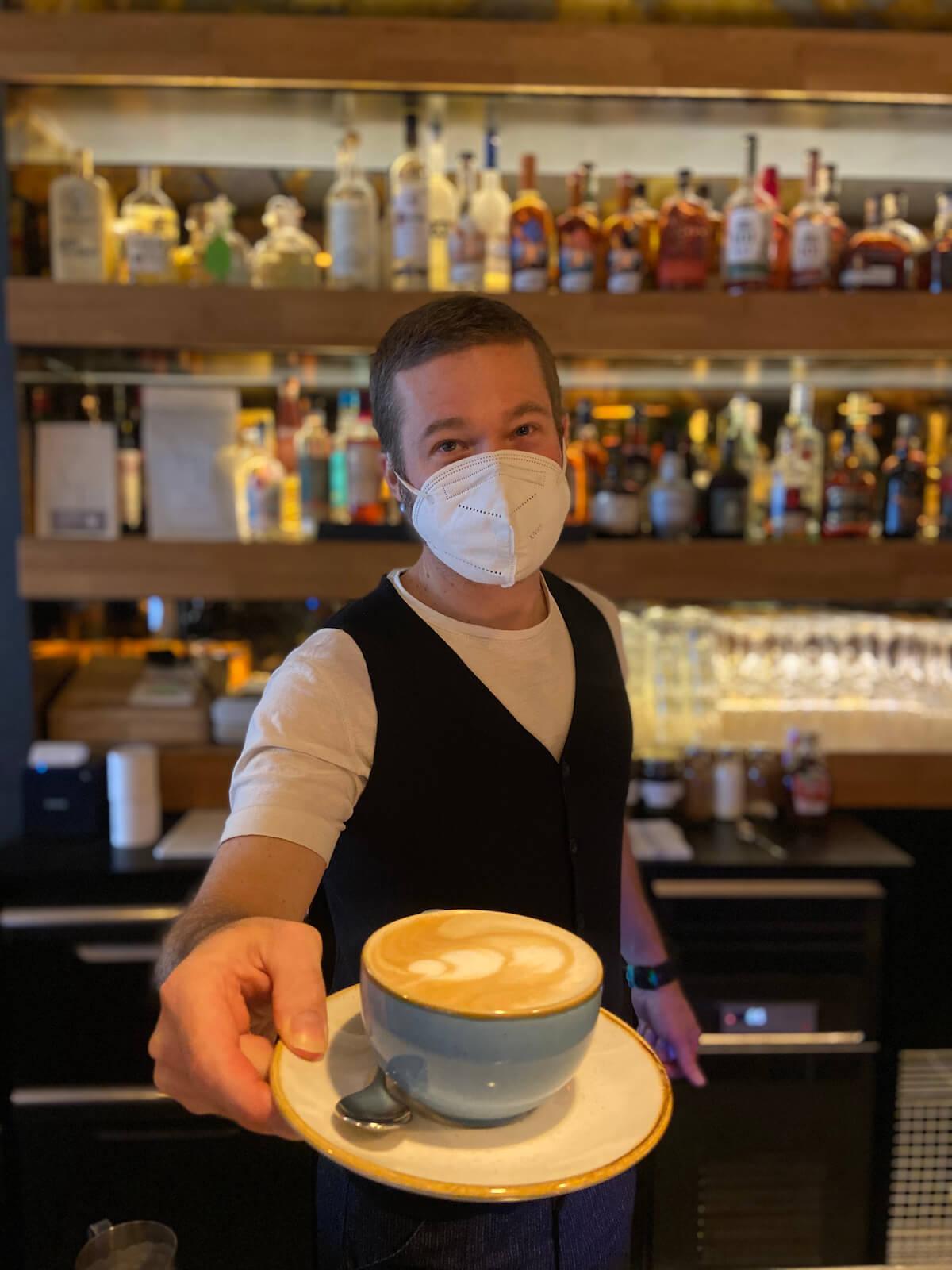 Breakfast-Café Manager Jared Goldman