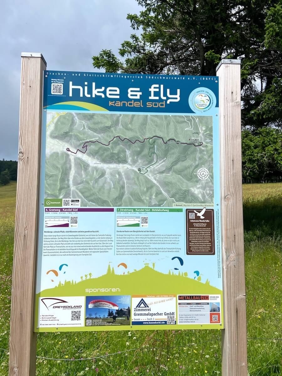 hike & fly am Kandel