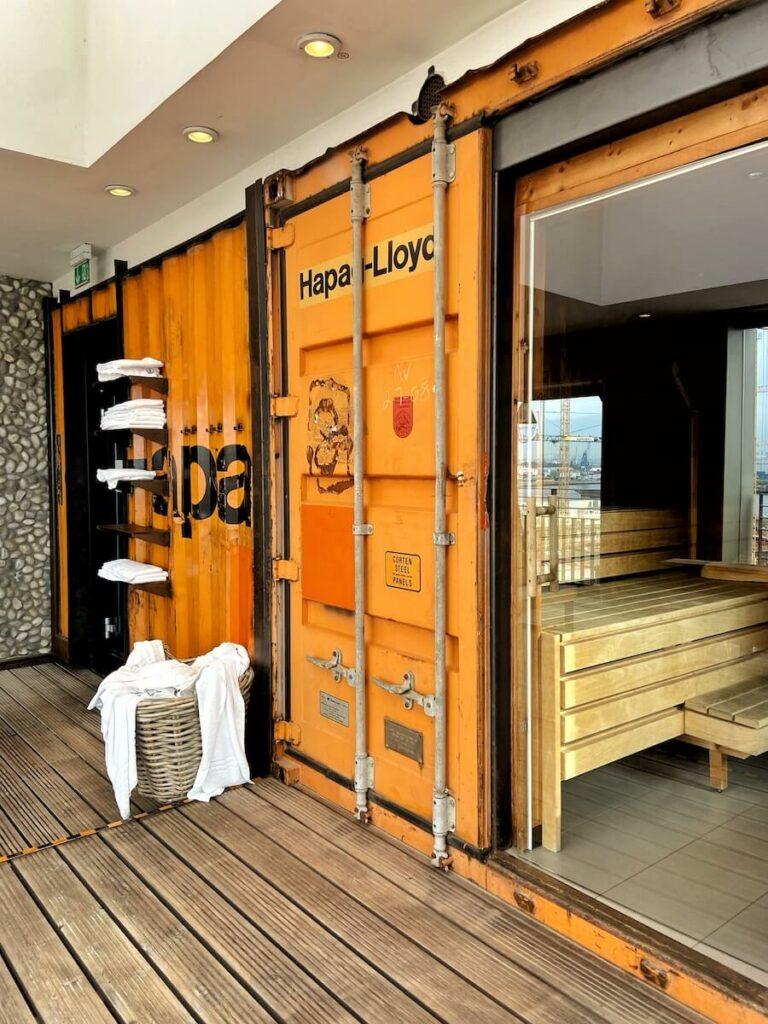 sauna 25hours hotel hamburg hafencity