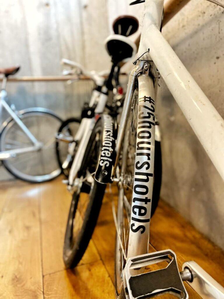 fahrräder 25hours hotel hamburg hafencity