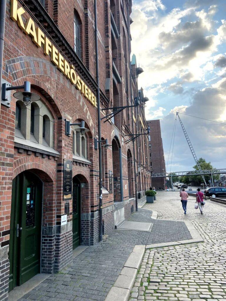kaffeerösterei speicherstadt hamburg