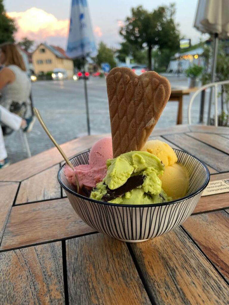 Eiscafé Cristallino in Bad Tölz