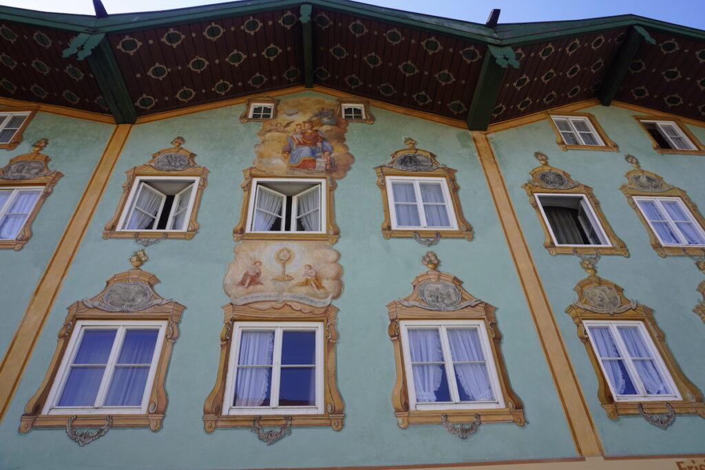 Häuserfassade Bad Tölz