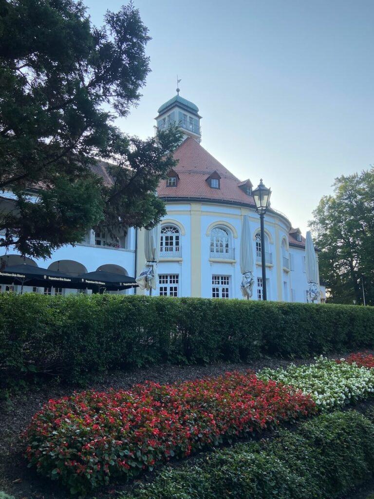 Der Kurpark in Bad Tölz