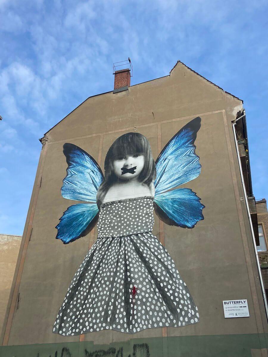 friedrichshain sehenswuerdigkeiten streetart butterfly